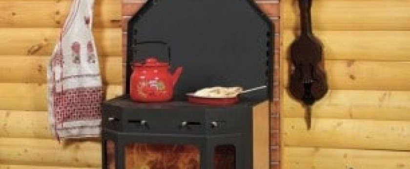 Чугунная печь «Бавария» с плитой – немецкое качество по российской цене