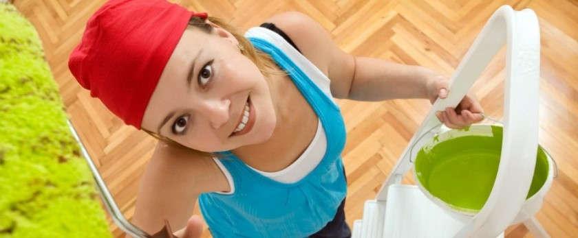 Как покрасить потолок из гипсокартона своими руками