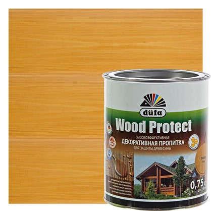 Антисептик Wood Protect цвет сосна 0.75 л