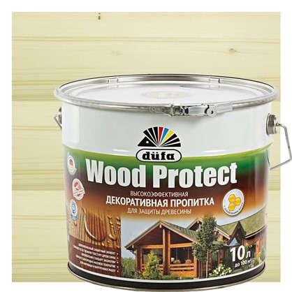 Антисептик Wood Protect прозрачный 10 л