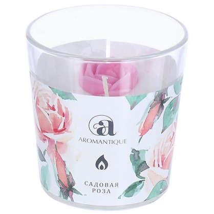 Ароматизированная свеча Садовая роза