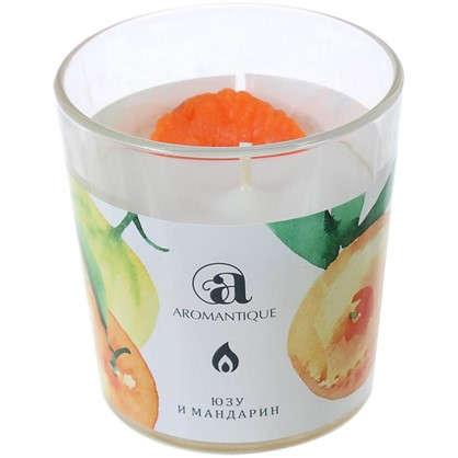 Ароматизированная свеча Юзу и мандарин