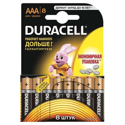 Батарейка алкалиновая Duracell Basic ААА 8 шт.