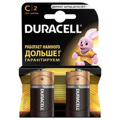 Батарейка алкалиновая Duracell Basic C 2 шт.