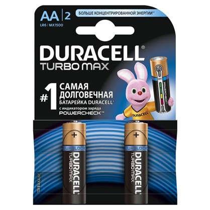 Батарейка алкалиновая Duracell TurboMax АА 2 шт.