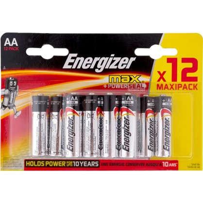 Батарейка алкалиновая Energizer Max AA/LR6 FSB 12 шт.