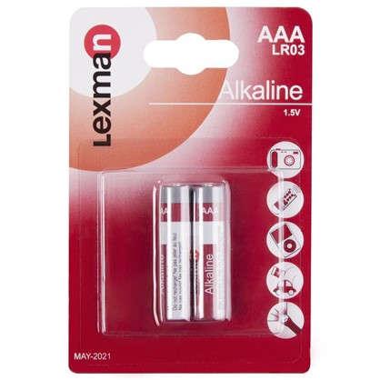 Батарейка алкалиновая Lexman AAA 2 шт.