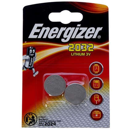 Батарейка литиевая Energizer ENR CR 2032 FSB2 2 шт.
