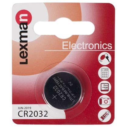 Батарейка литиевая Lexman CR2032