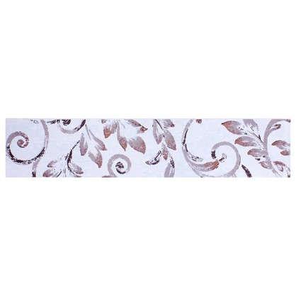 Бордюр Флориан 40х8.4 см цвет белый