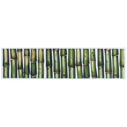 Бордюр Jungle 6x25 см цвет зелёный