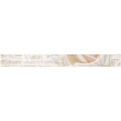 Бордюр Kamelia 5x50 см цвет бежевый