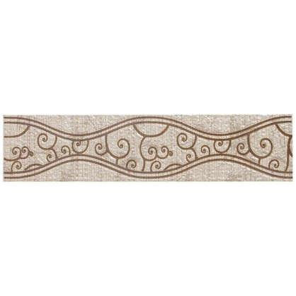 Бордюр Линеа Шираз 27.8х6.2 см цвет бежевый
