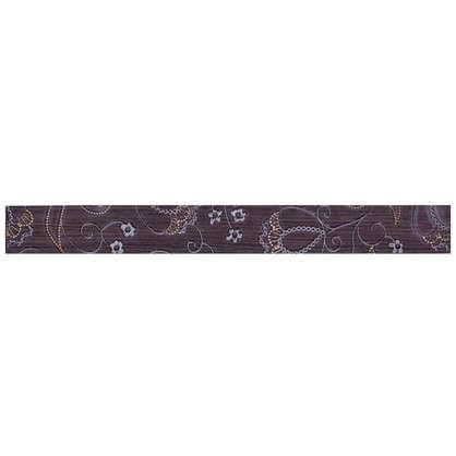 Бордюр Наоми 4.5x39.8 см цвет коричневый