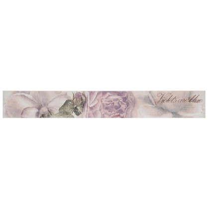 Бордюр настенный Ravenna Цветок многоцветный 8x60 см