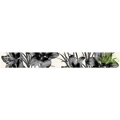 Бордюр Пиано 5х40 см цвет серый