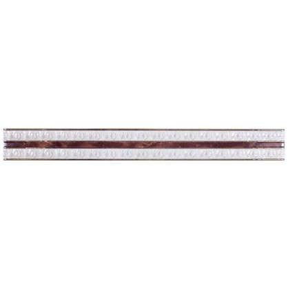 Бордюр Pietra 40x4.5 см цвет коричневый