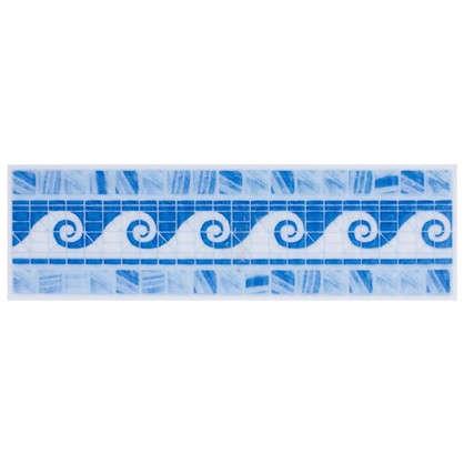 Бордюр Reef 6x20 см цвет синий