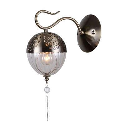 Бра Faberge 594/1А 1хЕ14х40 Вт цвет античная бронза