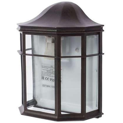 Бра Florac 1xE27х100 Вт стекло цвет черный