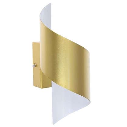 Бра светодиодное Boccolo 5 Вт 500 Лм цвет золото