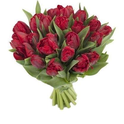 Букет Тюльпаны Пионовидные 7 шт.