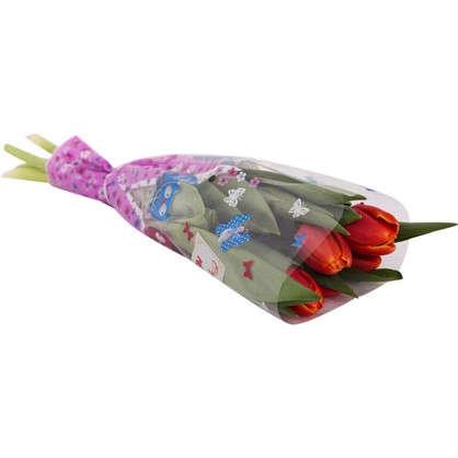 Букет тюльпанов 30 см 5 шт.