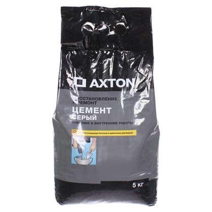 Цемент Axton 5 кг цвет серый