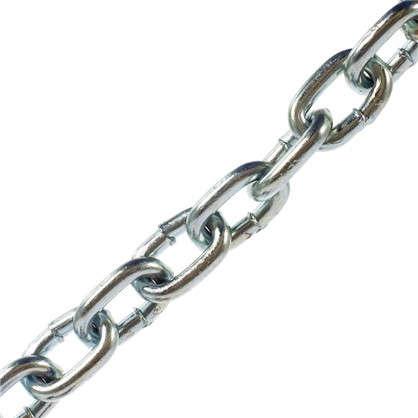 Цепь DIN 763 8 мм короткое звено сталь оцинкованная