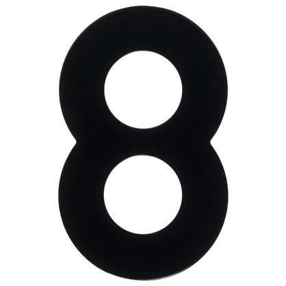 Цифра 8 Larvij большая цвет черный