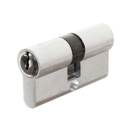 Цилиндр ключ-ключ 30х30 хром E AL 60 CP