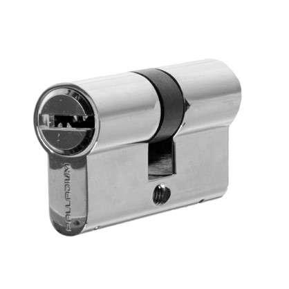 Цилиндр ключ/ключ 30х30 хром 2J07 CP