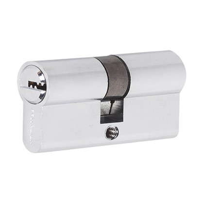 Цилиндр ключ/ключ 30х30 хром 60 C ET CP