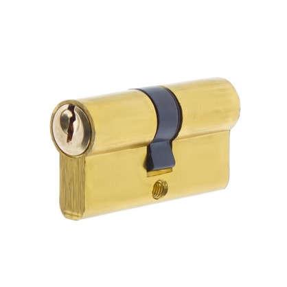 Цилиндр ключ/ключ 30х30 золото E AL 60 PB