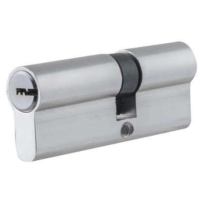 Цилиндр ключ/ключ 35х45 хром TT-CAB3545CR