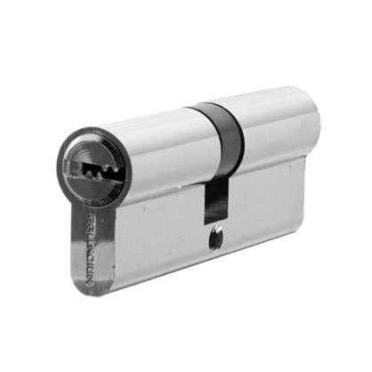 Цилиндр ключ/ключ 40х40 хром 80 C ET CP