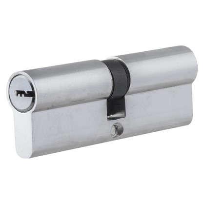 Цилиндр ключ/ключ 45х45 хром TTCAB823