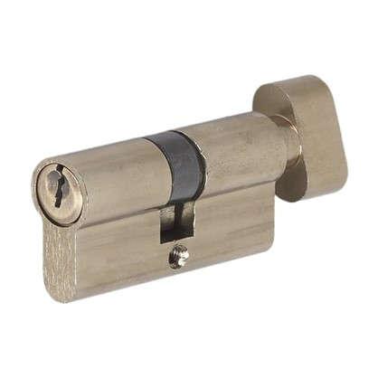 Цилиндр ключ/вертушка 30х30 бронзаЕ 60 AB T01