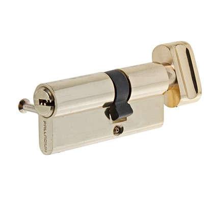 Цилиндр ключ/вертушка 30х40 золото 2J07 PB