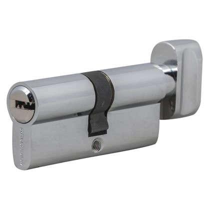 Цилиндр ключ/вертушка 35х35 хром 2J07 70T01 CP