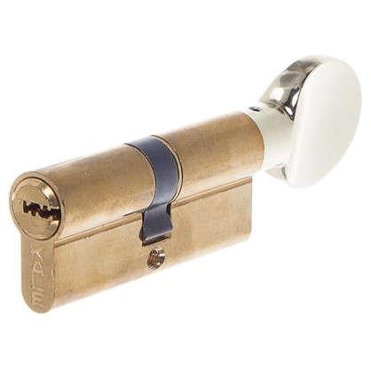Цилиндр ключ/вертушка 35х35 золото164 SM/70