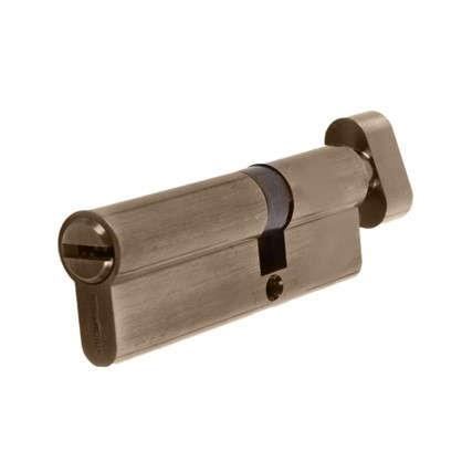 Цилиндр ключ/вертушка 35х55 бронза 90 C BK AB