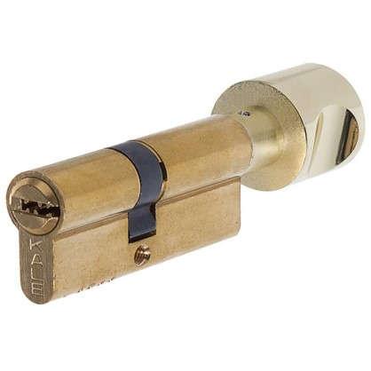 Цилиндр ключ/вертушка 40х40 золото164 OBS SCE/80