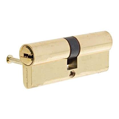 Цилиндр Palladium 2J07 80 40х40 мм ключ/ключ цвет золото