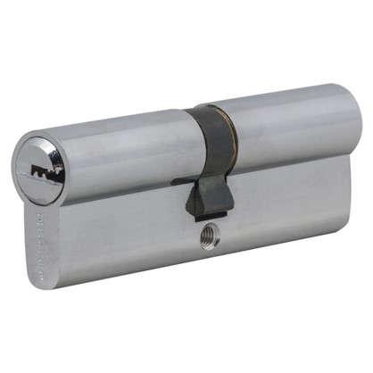 Цилиндр Palladium 90 45x45 мм ключ/ключ цвет хром