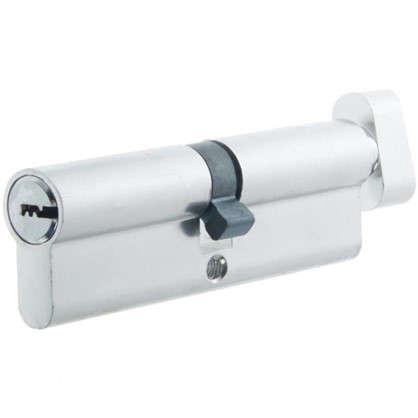 Цилиндр Standers 100 50x50 мм ключ-вертушка цвет хром