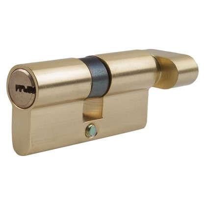 Цилиндр Standers 60 30x30 мм ключ-вертушка цвет золото