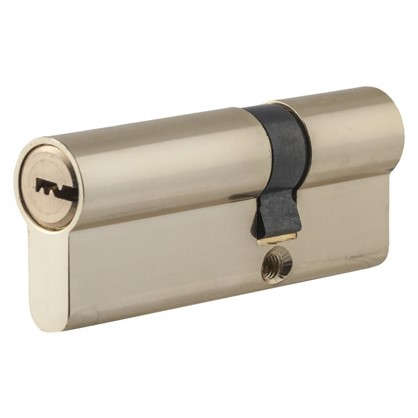 Цилиндр Standers 80 30x50 мм ключ-ключ цвет золото