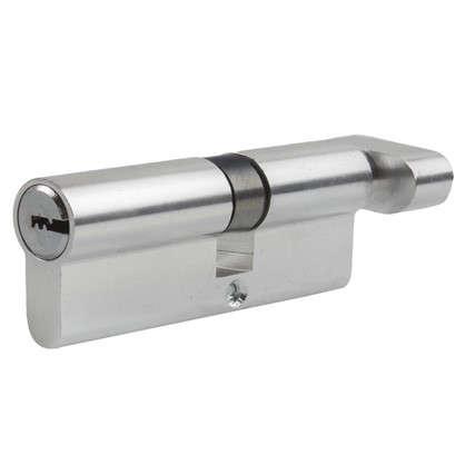 Цилиндр Standers 80 35x45 мм ключ-вертушка цвет хром