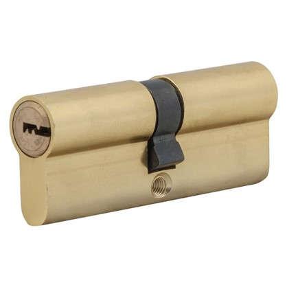 Цилиндр Standers 80 40x40 мм ключ-ключ цвет золото